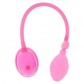 Розовая вакуумная помпа для клитора