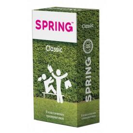 Классические презервативы SPRING CLASSIC - 9 шт.